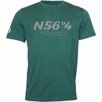 North 56°4 T-shirt 'North Atlantic Challenge', d.groen