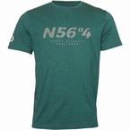 North 56°4 T-shirt 'North Atlantic Challenge', d.groen
