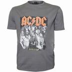 Replika Jeans T-shirt 'AC/DC', donkergrijs