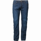 North 56°4 jeans van KURABO denim RINGO, blue used wash