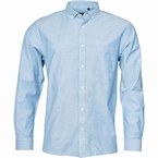 North 56°4 Oxford shirt lange mouw, l. blauw