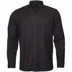 North 56°4 Oxford shirt lange mouw, zwart