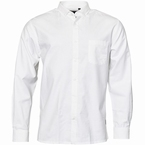 North 56°4 Oxford shirt lange mouw, wit