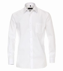 Casa Moda strijkvrij Comfort Fit overhemd LM, wit