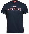 D555 T-shirt 'New York', navy