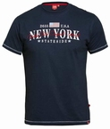 D555 T-shirt 'New York', navy