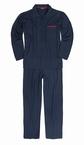 Doorknoop pyjama m. lange broek, navy
