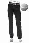 Alberto 5-pocket Regular Slim Fit T400 stretch L32, zwart