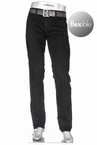 Alberto 5-pocket Regular Slim Fit T400 stretch L32, zwart