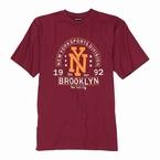 Adamo T-shirt BROOKLYN, wijnrood