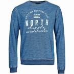 North 56°4 Crew Neck Sweat North Supply, indigo blauw