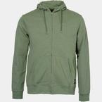 Replika Hooded vest met rits, olijfgroen