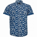 North 56°4 zomers shirt all-over print, navy