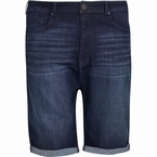 Replika shorts m. stretch model RINGO, blue stone wash