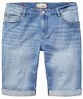 Redpoint shorts m. stretch, lichte jeans
