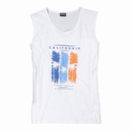 Adamo Tanktop CALIFORNIA, wit