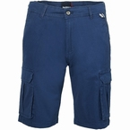 North 56°4 Cargo shorts met stretch, navy blauw