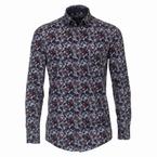 Casa Moda Kent overhemd Casual Fit, bladprint