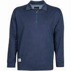 North 56°4 winter sweater m. rits, navy blue