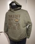 Kitaro Sweatshirt met capuchon