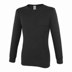 JEANS  lange mouw Thermo t-shirt, zwart