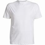 US T-shirt, effen wit
