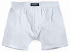 North 56°4 boxershort, effen wit
