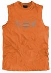 Tank top 'Raw Industry', oranje