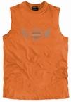 Tank top 'Raw Industry', oranje