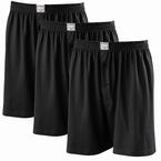 JAMES boxershort 3-pack, zwart (3 stuks)
