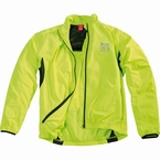 Cycling waterafstotend windjack, neon geel