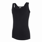 ROYAL hemd extra lang, zwart