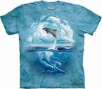 T-shirt Dolphin Sky