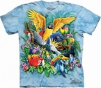 T-shirt Birds Tropics
