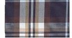 Overhemd lange mouw, d.blauw geruit - 47/48 (3XL)