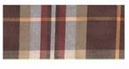 Overhemd lange mouw, bruin geruit - 45/46 (2XL)