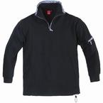 Ottoman sweatshirt, zwart