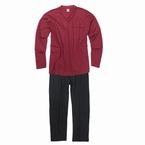 Pyjama GUSTAV, bordeaux rood