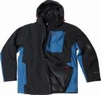 Aero Ski Jack 3K, zwart- petrol