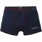 Replika boxershort, navy blauw/rood