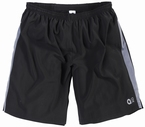 Aero tech sport shorts, zwart