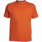 US T-shirt, effen oranje