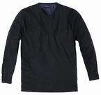 North 56°4 Pullover met V-hals, zwart