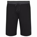 Jersey pyjama korte broek, zwart