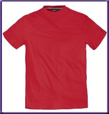 T-shirt effen